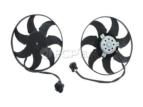 VW Engine Cooling Fan Motor (EuroVan) - Genuine VW Audi 7D0959455K