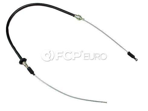 Audi Parking Brake Cable Left (4000 Quattro Quattro) - Genuine VW Audi 857609721D