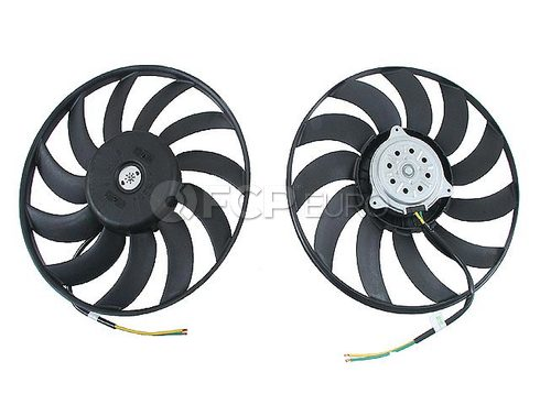 Audi Engine Cooling Fan Motor Left (A4 Quattro A4) - Genuine VW Audi 8E0959455K