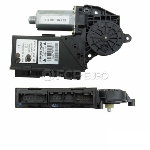 Audi Power Window Motor Front Left (S4 A4 Quattro A4 RS4) - OEM Supplier 8E1959801G
