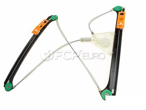 Audi VW Window Regulator w/Motor Front Left - Genuine VW Audi 8P4837461C