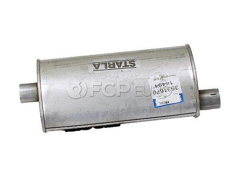 Volvo Exhaust Muffler Rear (740 940) - Genuine Volvo 3531670