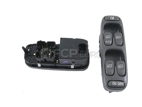 Volvo Door Window Switch Front Left (S70 V70) - Genuine Volvo 8638452OE