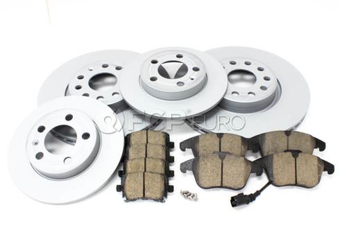 VW Brake Kit Front & Rear (Tiguan) - Zimmermann/Akebono TIGUANBK1