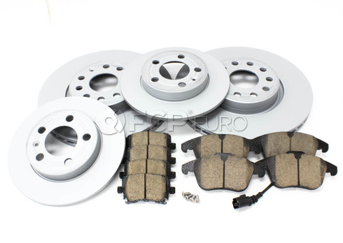 VW Brake Kit - Zimmermann/Akebono 420721