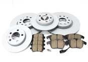 VW Brake Kit Front & Rear (Tiguan) - Zimmermann/Akebono TIGUANBK1