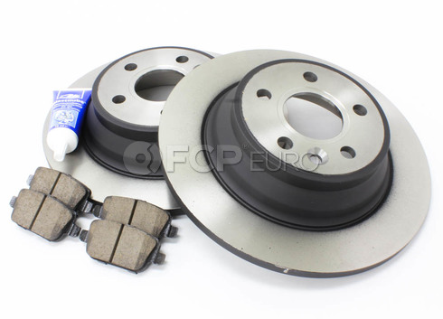 Volvo Brake Kit Rear (V70 XC70 S80) - Zimmerman KIT-P3REARMANUALKT3P5