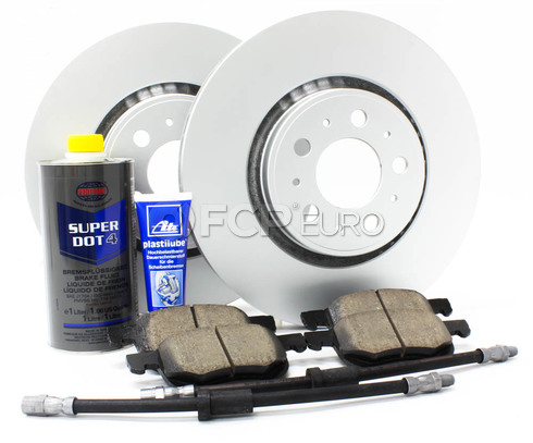 "Volvo Brake Kit 12.6"" Front 8 Piece  (S60 V70) - Meyle KIT-P2320FTBK3P8"