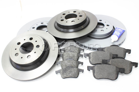 "Volvo Brake Kit 12.6"" Front And Rear (S60 V70 XC70 S80) - ZIMMERMAN KIT-P2320FTANDRBKKT2"