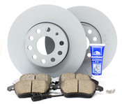 Audi VW Brake Kit - Zimmermann/Akebono MK5FRBKZIMM