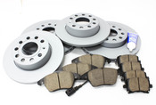Audi VW Brake Kit - Zimmermann KIT-420864
