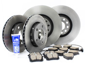 Audi VW Brake Kit - Zimmermann Sport/Akebono 8E0615301ADKT2