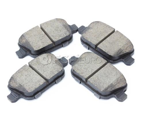 Volvo Brake Pad Set Rear (V70 XC70 S80) - Akebono 30671576