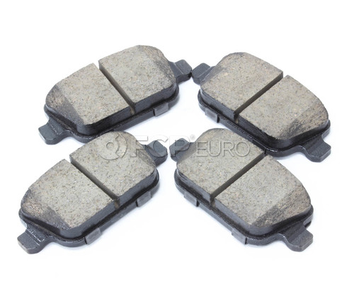 Volvo Brake Pad Set - Akebono 30671576