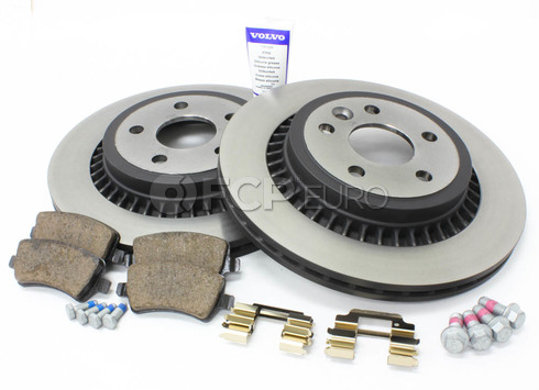 Volvo Brake Kit Rear (XC60) - Genuine Volvo KIT-P3XC60REARKTP5