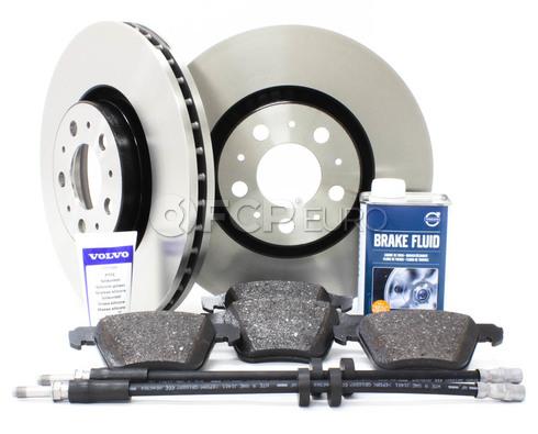 """Volvo Brake Kit Front 12.5"""" 8 Piece (XC90) - Genuine Volvo KIT-P2316FTBKP8"""