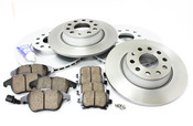 VW Brake Kit Front & Rear - Meyle/Akebono 421806