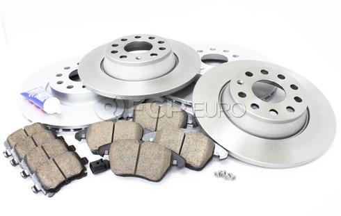 Audi VW Brake Kit Front & Rear (A3 Jetta GTI) - Meyle/Akebono MK6BKMEY