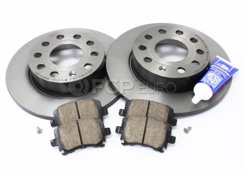 Audi VW Brake Kit (Golf Jetta) - Brembo/Akebono MK5REARBKBRE