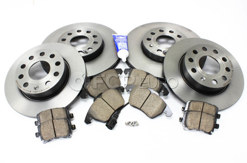 Audi VW Brake Kit (Golf Jetta Rabbit) - Brembo/Akebono MK5BKBRE