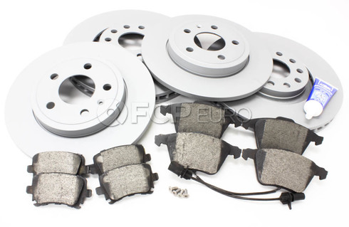 Audi Brake Kit (A4 A4 Quattro) - Zimmermann/Bosch B7A4BRAKE1