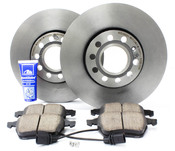 Audi VW Brake Kit - Zimmermann/Akebono B6FRBKBRE