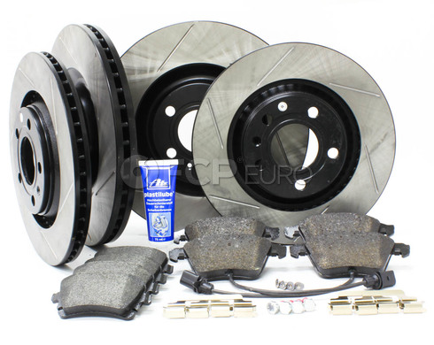 Audi Performance Brake Kit Front & Rear (B6 B7 S4) - Stop Tech/Textar B6S4BRAKEFR3