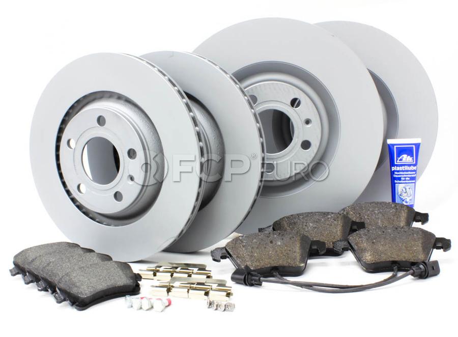 Audi VW Brake Kit - Zimmermann/Textar B6S4BRAKEFR2