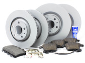 Audi VW Brake Kit - Zimmermann/Textar B6S4BRAKEFR2