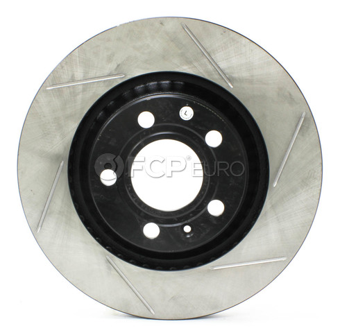 Audi Slotted Brake Disc Rear Left (B6 B7 S4) - Stop Tech 126.33088SL