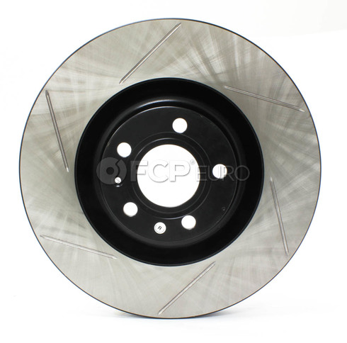 Audi Slotted Brake Disc Front Right (B6 B7 S4) - Stop Tech 126.33087SR