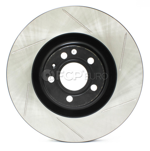 Audi Slotted Brake Disc Front Left (B6 B7 S4) - Stop Tech 126.33087SL