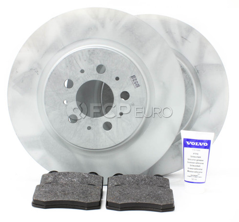 Volvo Brake Kit Rear 5 Piece (S60R V70R) - Genuine Volvo KIT-P2RREARBKP5