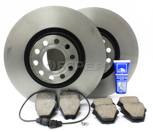 Audi Brake Kit (D2 A8 Quattro S8) - Brembo/Akebono D2A8FRONTBRK1