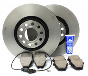 Audi VW Brake Kit - Brembo/Akebono D2A8BRK1