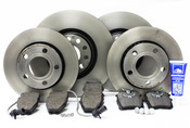 Audi VW Brake Kit - Brembo/Pagid B5S4BRAKEFR1