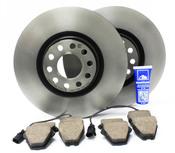 Audi Front Brake Kit (Allroad Quattro) - Brembo/Akebono ALLROADFRONTBRAKEKIT1
