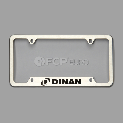 BMW License Plate Bracket - Dinan D010-0012