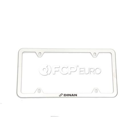 BMW Slimline License Plate Frame - Dinan D010-0017