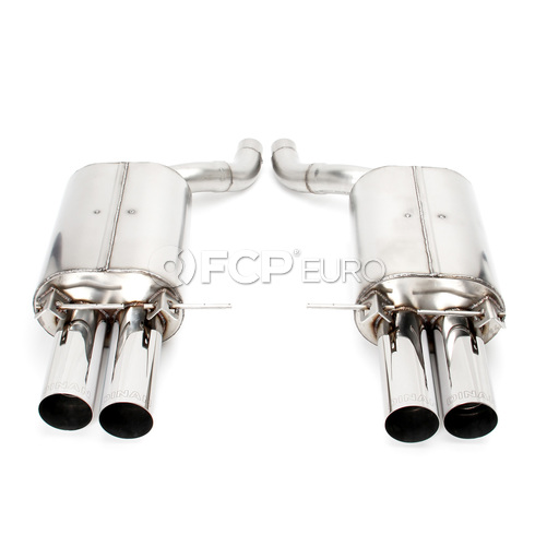 BMW Axle Back Exhaust With Polished Tips (E63 M6) - Dinan D660-0010