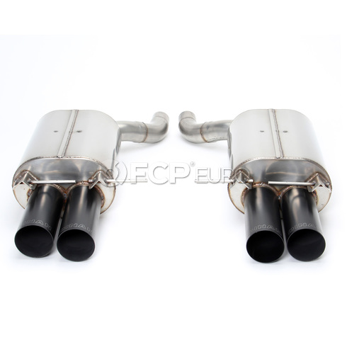 BMW Axle Back Exhaust With Black Tips (E64 M6) - Dinan D660-0017-BLK