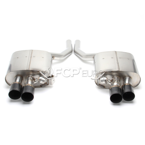 BMW Free Flow Exhaust with Black Tips (F10 550i) - Dinan D660-0036-BLK