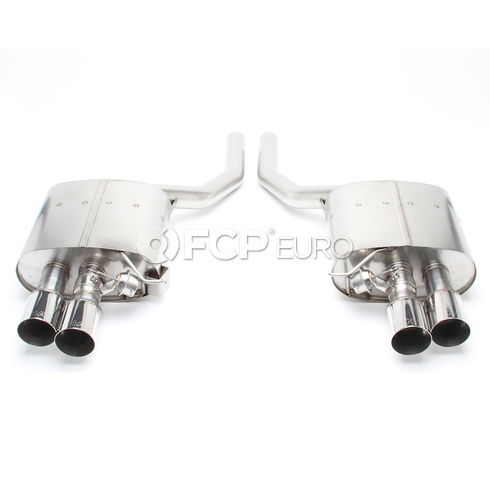 BMW Stainless Exhaust with Polished Tips (F01 F02) - Dinan D660-0038