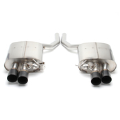 BMW Freeflow Stainless Exhaust with Black Tips (F01 F02) - Dinan D660-0038-BLK