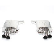 BMW Free Flow Exhaust with Polished Tips (F06 F12 F13 650i) - Dinan D660-0040