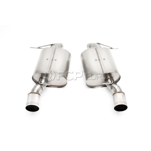 BMW Free Flow Exhaust With Polished Tips (E90) - Dinan D660-0041
