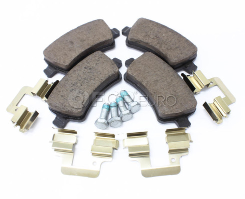 Volvo Brake Pad Set (S60 V60 V70 XC70 S80) - Genuine Volvo 30671575