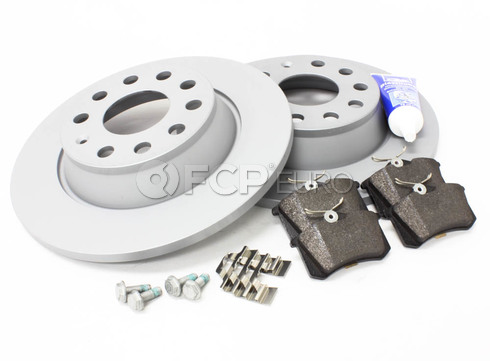 Audi VW Brake Kit (TT Quattro) - Zimmermann/Genuine TTREARBKZIMM