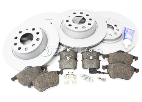 Audi Brake Kit - Zimmermann/Genuine TTBRAKEZIMM