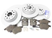 Audi VW Brake Kit - Zimmermann/Genuine TTBRAKEZIMM